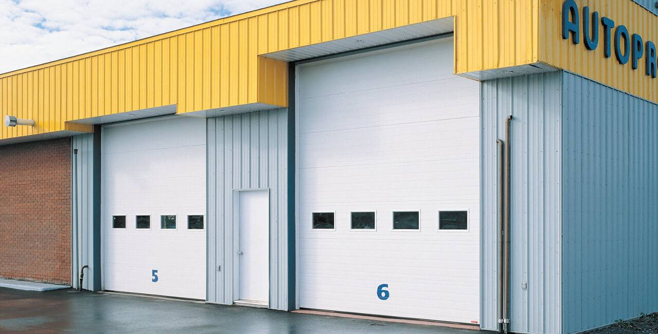 G-5000 doors, Various sizes, Ice White