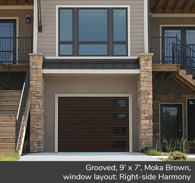 Grooved for a Contemporary style