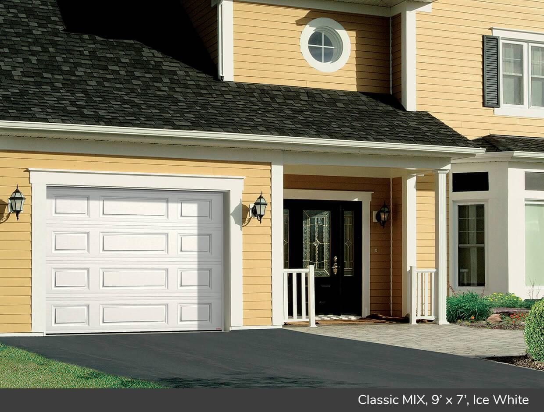Classic MIX design from Garaga Garage Doors