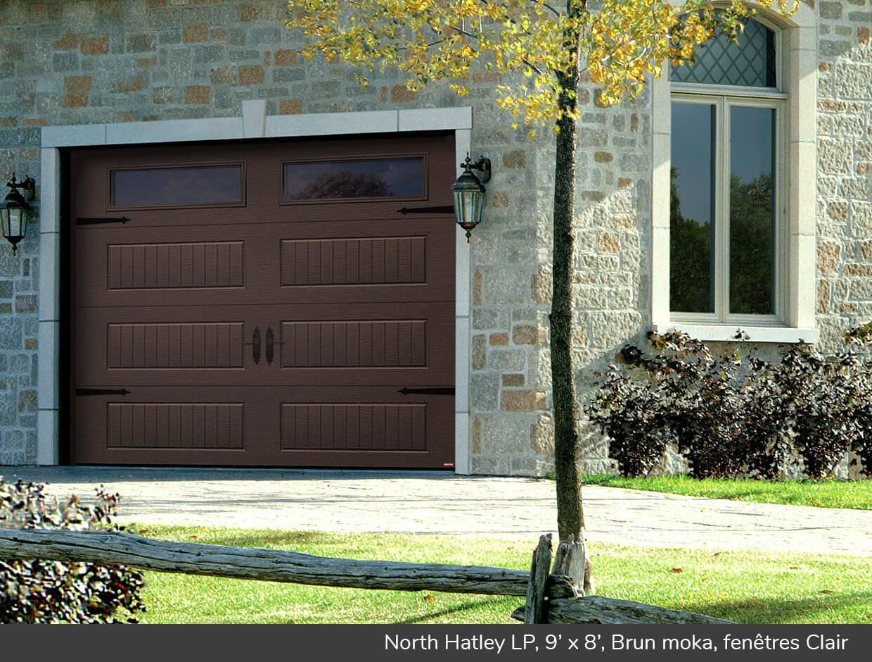 North hatley lp portes de garage r sidentielles garaga for Porte de garage garaga