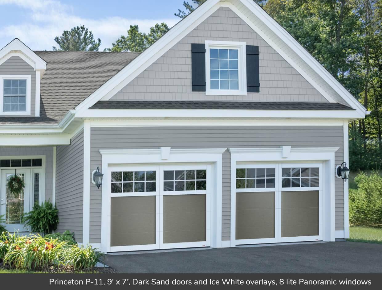 Princeton p 11 design from garaga garage doors for 11 x 7 garage door
