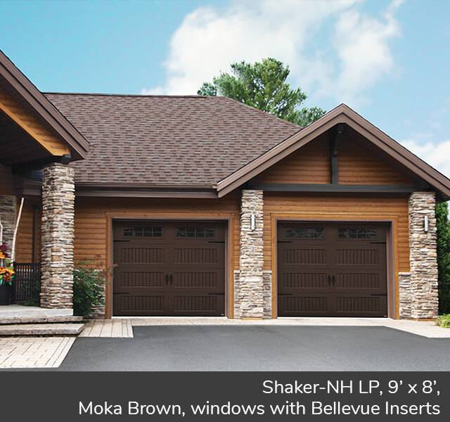 Shaker-NH LP for a Carriage House style