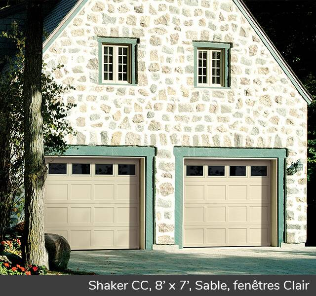 Shaker CC pour un style traditionnel