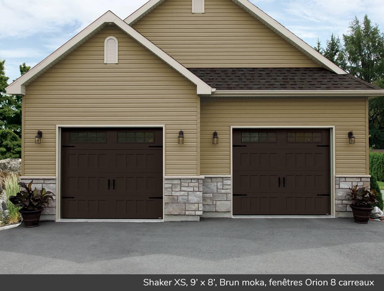 Shaker xs portes de garage r sidentielles garaga for Isolation gratuite garage