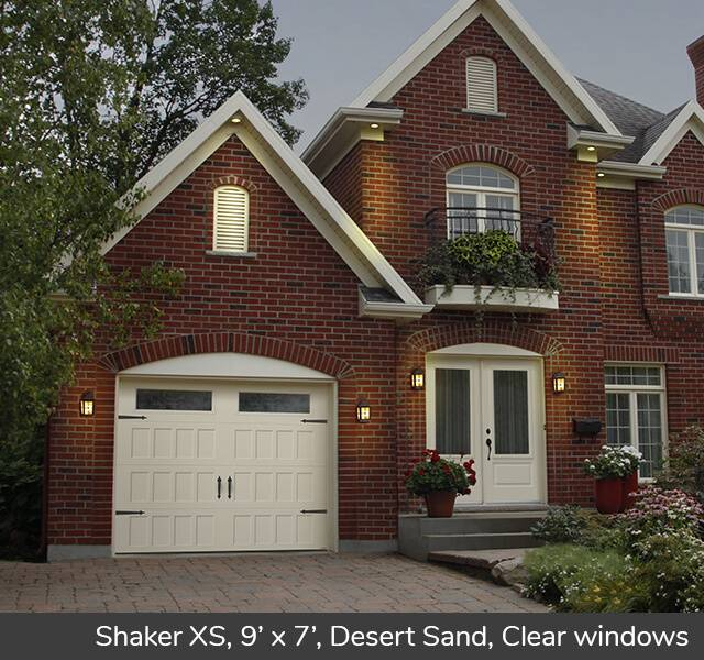 Shaker XS for a Carriage House style