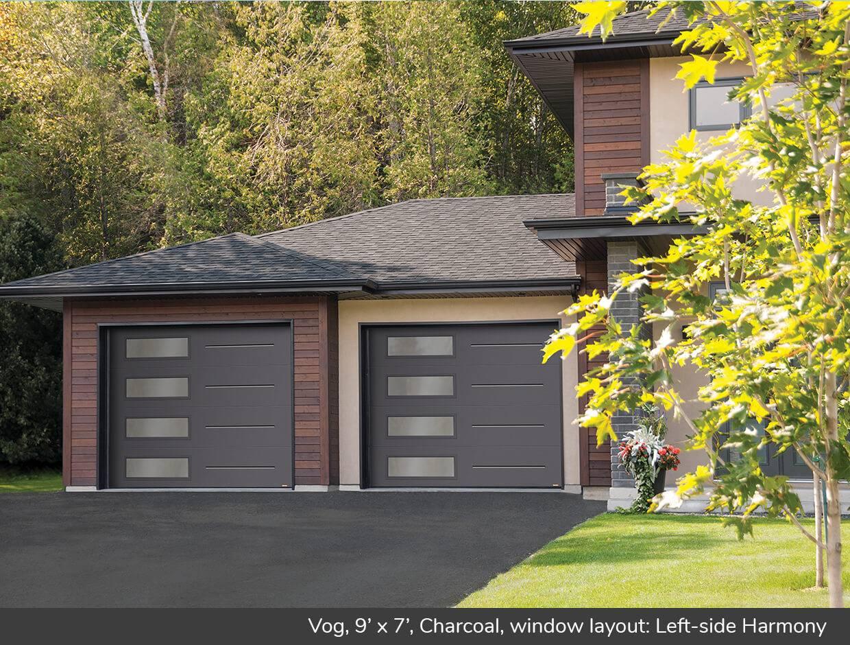 Vog, 9u0027 X 7u0027, Charcoal, Window Layout: Left Side