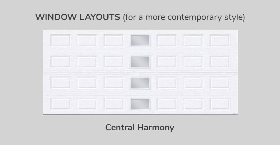 Window layouts - Central Harmony