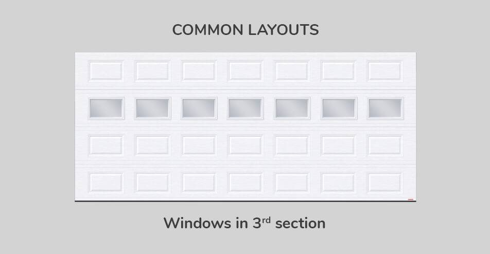 Common layouts - Windows in third section
