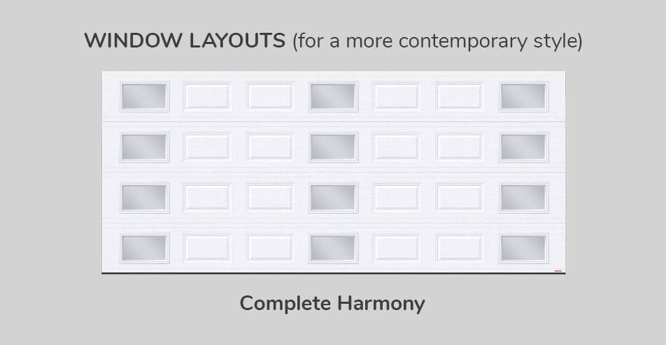 Window layouts - Complete Harmony