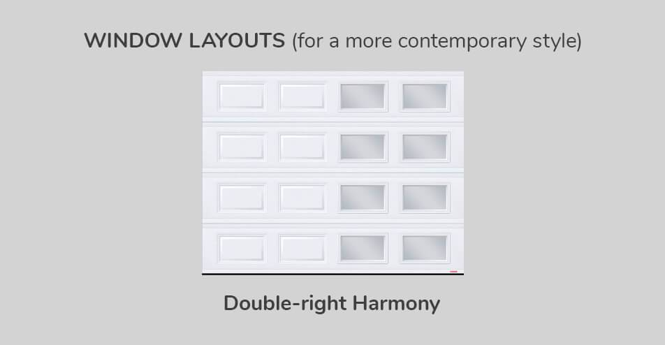 Window layouts - Double-right Harmony
