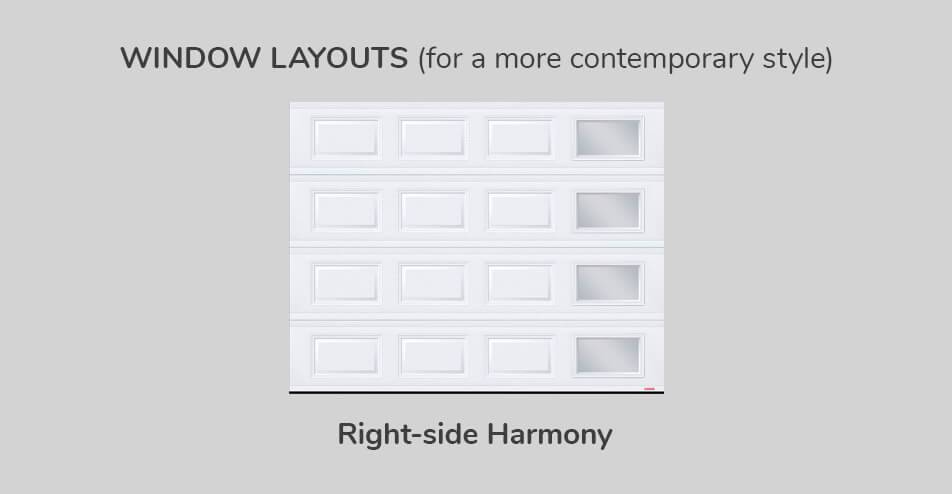 Window layouts - Right-side Harmony