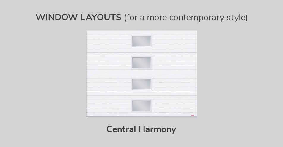 Window layouts, Central Harmony