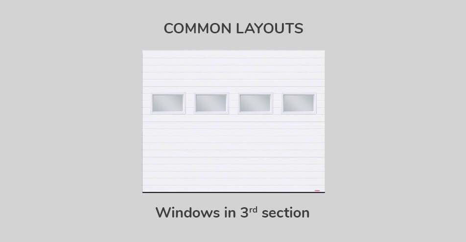 Common layouts, Windows in third section